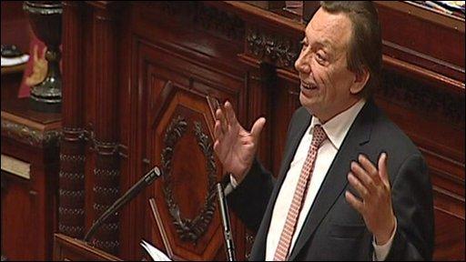 Belgian politician Michel Daerden