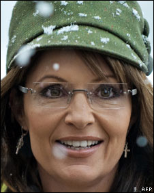 Sarah Palin at a book signing in Virginia