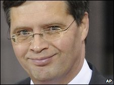 Dutch Prime Minister Jan-Peter Balkenende, December 2009