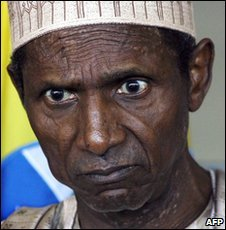 Nigerian President Umaru Yar'Adua -  file photo 29 July 2009