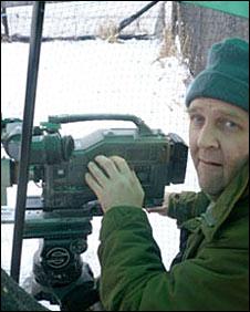 Wildlife cameraman Manuel Hinge