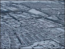 Bicester from the air