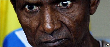 Nigerian President Umaru Yar'Adua (file photo from 29 July 2009)
