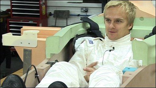 Heikki Kovalainen, Lotus Formula One driver
