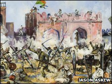 The Assault on Kashmir Gate by Jason Askew