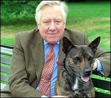 Roy Hattersley and Buster