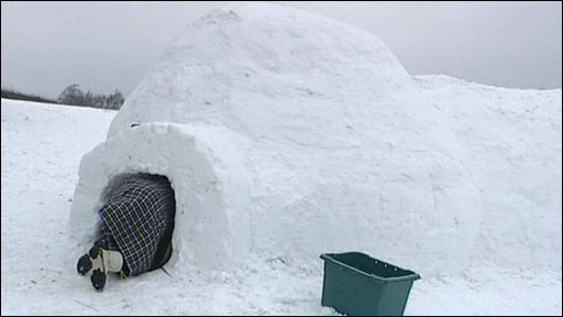 The igloo in Frankley Beeches, Birmingham