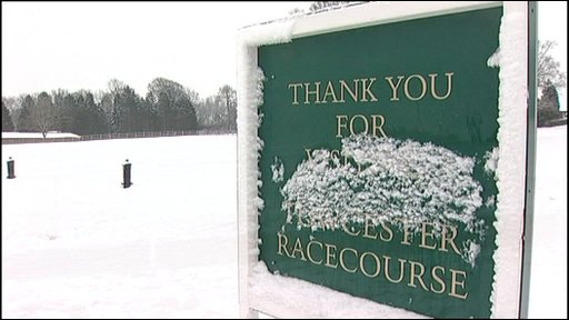 Race course sign