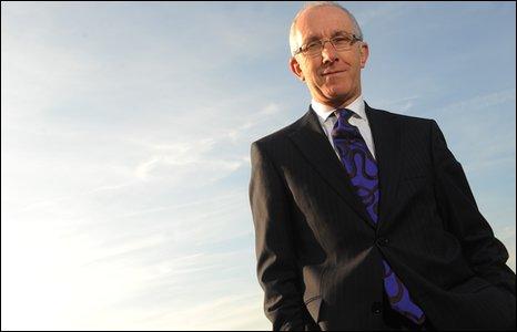 Michael Houlihan, Director General of Amgueddfa Cymru - National Museum Wales