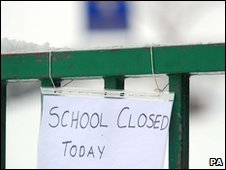 A closed school