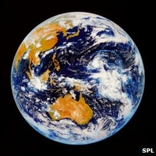 Satellite image of Australasia (SPL)
