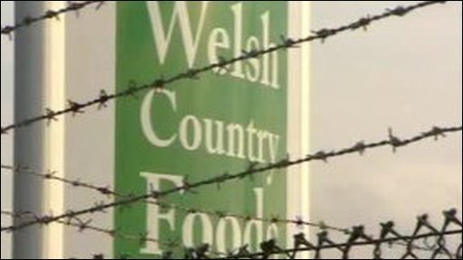 Welsh Country Foods sign
