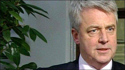Shadow Health Secretary Andrew Lansley