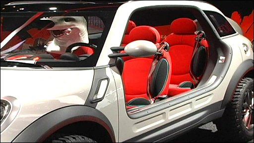 Mini ''Beachcomber'' concept car