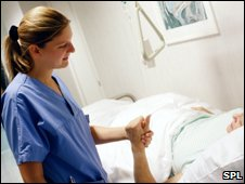 Nurse at bedside