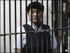 Andal Ampatuan Junior in jail