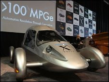 X-Prize competition vehicle
