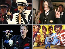 Cheryl Cole, Michael Jackson, Sgt Pepper-era Beatles and Coldplay have all donned uniforms