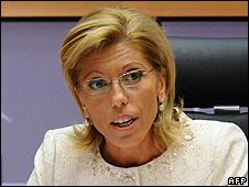 Bulgarian candidate Rumiana Jeleva