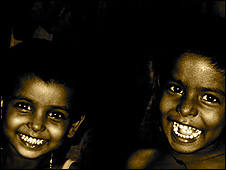 Photograph of street children by Avijit Halder