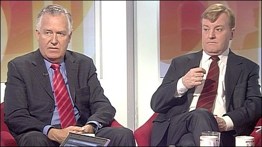 Peter Hain and Charles Kennedy