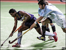 Indian hockey player