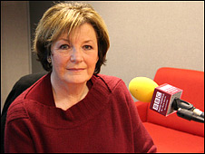 Delia Smith at BBC Radio Norfolk