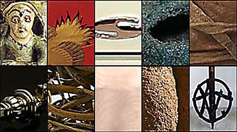 Montage of Devon's 10 objects