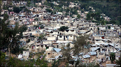 Shanty town in Haiti after the earthquake (Photo: Red Cross)