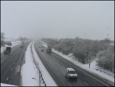 M40 in Oxfordshire (photo taken by Ruth Jackson on Wednesday)