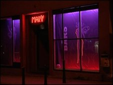 Strip club in Amsterdam