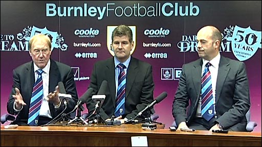 Burnley's new boss Brian Laws first news conference
