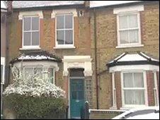The home in Tottenham