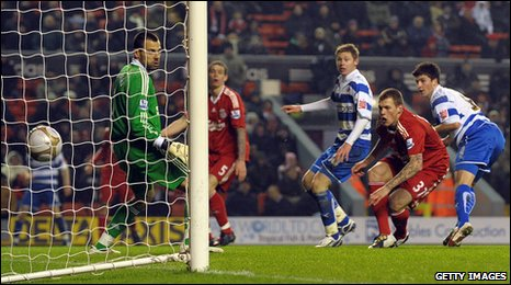 Shane Long scores Reading's winner
