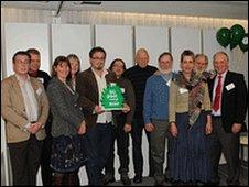 The award-winning Green Valleys team