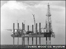Sea Gem oil platform