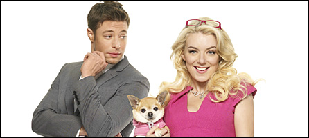 Sheridan Smith and Duncan James