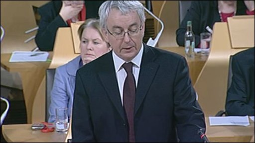 Labour MSP Des McNulty led the debate on literacy