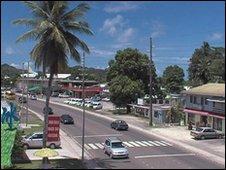 Street scene, Palau