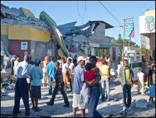 People in Port-Au-Prince