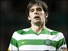 Celtic striker Cillian Sheridan is joining St Johnstone