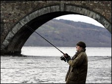 Fisherman on the River Tay