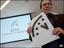 Lawrence Krauss, co-chair of the Bulletin of Atomic Scientists Board 14 Jan 2010