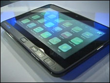 OpenPeak tablet
