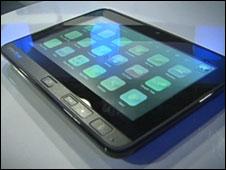 OpenPeak tablet