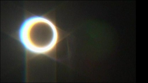 "The ""annular"" eclipse"