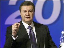 Ukrainian opposition leader Viktor Yanukovych