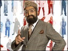 BBC Asian Network breakfast show presenter Adil Ray's character Mr Khan
