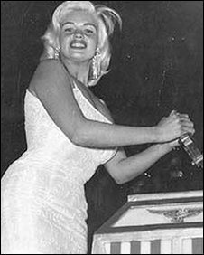 Jayne Mansfield: Picture from From Lamp to Laser: The Story of Blackpool Illuminations by Terry Regan and Andrew Hazlehurst