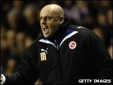 Reading caretaker manager Brian McDermott